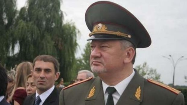 "Vladimir Antyufeev, ""acting prime minister"" of the self-declared People's Republic of Donetsk in eastern Ukraine."