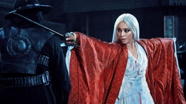 A scene from <i>The White Haired Witch of Lunar Kingdom</i>.