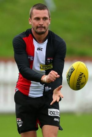 On the dotted line: St Kilda has signed defender Jarryn Geary.