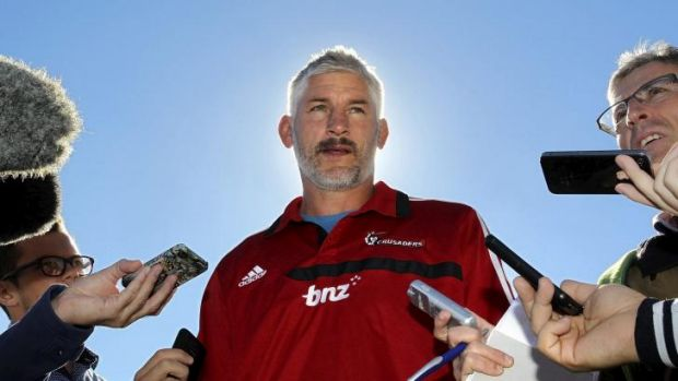 There's no place like home: Crusaders coach Todd Blackadder.