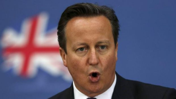 British PM compared Russia to pre-war Germany in the 20th Century.