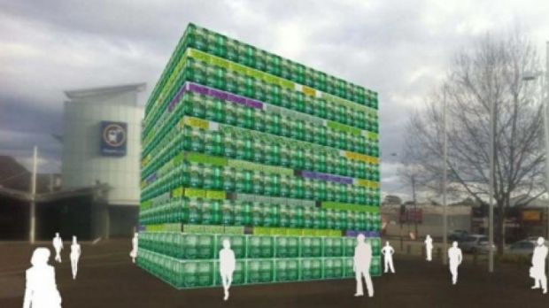 Artist's impression of The Great Crate from Sydney's Art & About Festival
