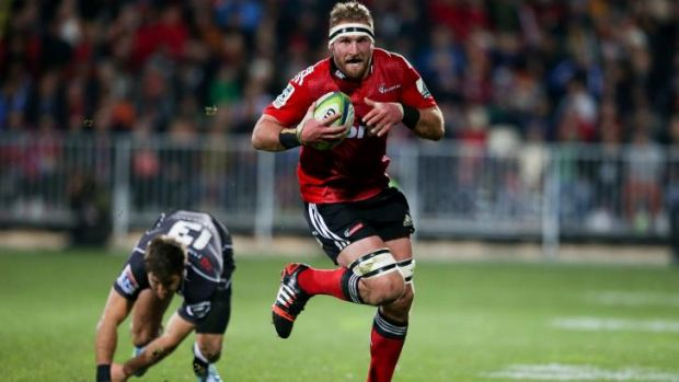 The man the Waratahs must stop: Kieran Read.