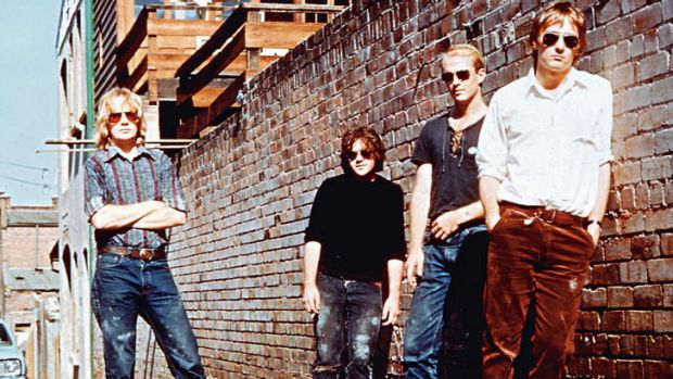 Seminal Brisbane band The Saints, featured prominently in Pig City.