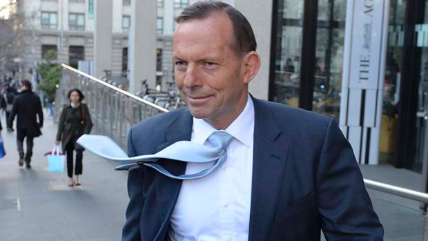 Spruiker: Tony Abbott has no interest in an election.
