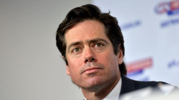 Gillon McLachlan has attempted to play down a dispute between the AFL and its media arm.