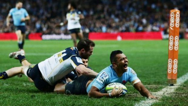 Kurtley Beale is in doubt for Saturday's Super Rugby final against the Crusaders.