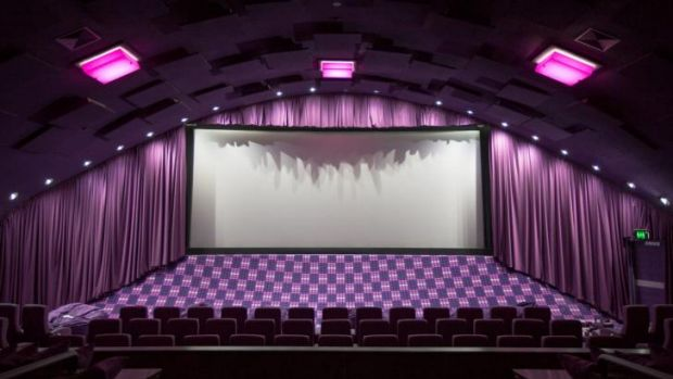 Almost 100 years after silent films first flickered on its screen, movies have returned to New Farm'?s historic cinema.