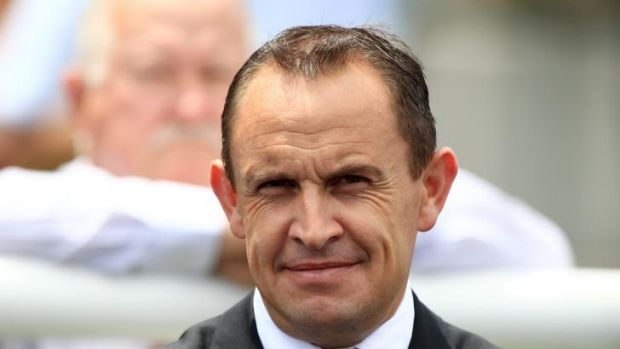 Awesome foursome: Chris Waller has won his fourth Bart Cummings Medal.