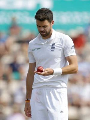 England paceman James Anderson.