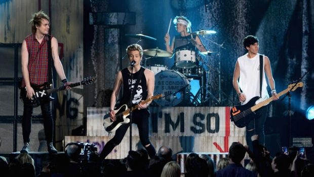Sydney band 5 Seconds of Summer.