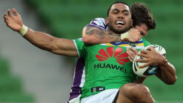 Big-name recruit Bill Tupou has played only five games for the Raiders in 2014.