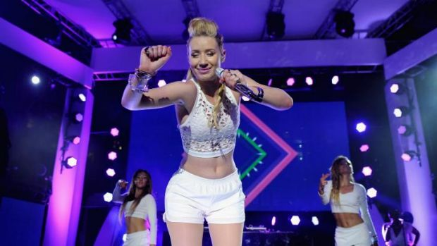 Taking the US by storm: Iggy Azalea.