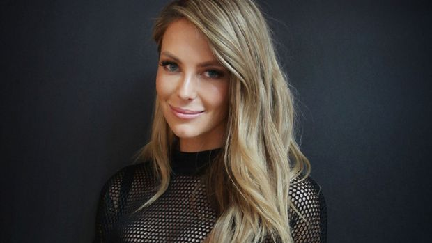 Humbled: Jennifer Hawkins.