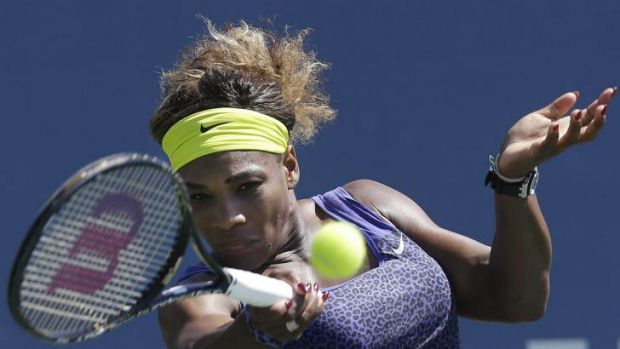 Serena Williams is through to the final in Stanford.