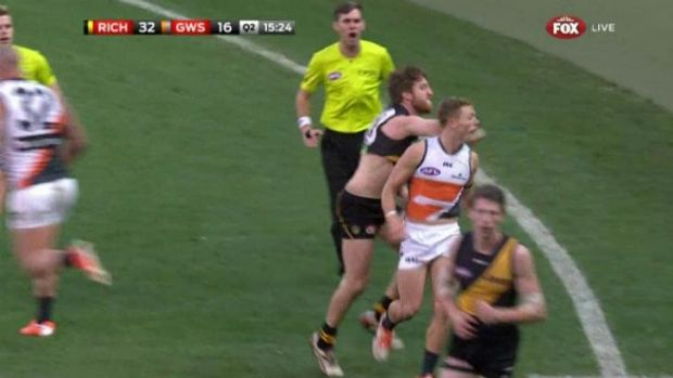 "Damien Hardwick says Reece Conca will have to ""cop his whack"" for this incident."