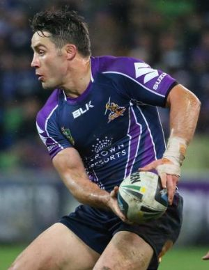 The Storm's recent form has been linked with the return of star halfback Cooper Cronk from injury.