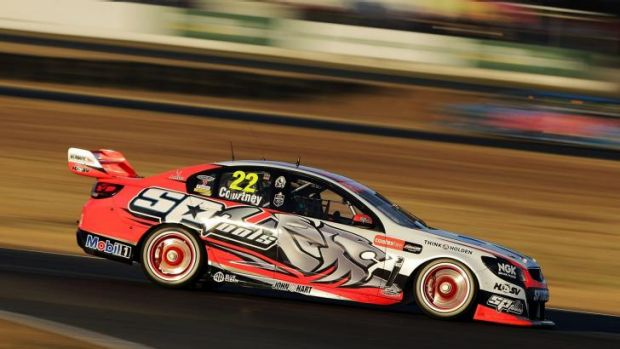 James Courtney enjoyed his second win of the year.