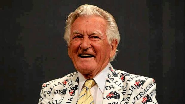 Bob Hawke: Nasal and croaky, but inclusive and magnetic.