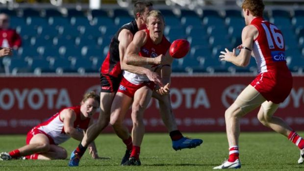 Waiting game: Ryan O'Keefe faces the unpleasant prospect of playing out his career in the NEAFL having not played in the ...