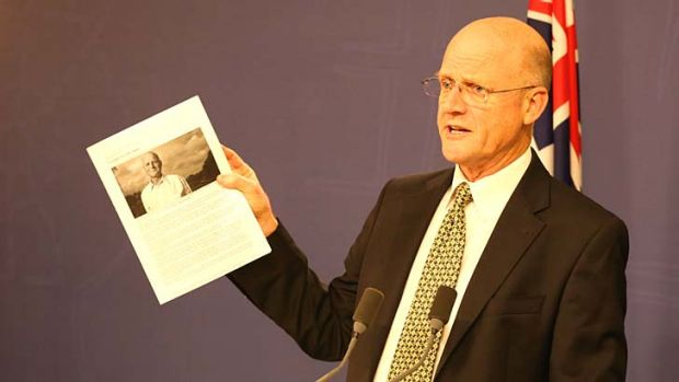 Willing to trade: Senator David Leyonhjelm.