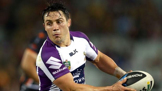 Team effort: Cooper Cronk had a blinder for the Storm but coach Craig Bellamy was more impressed with his side's ...
