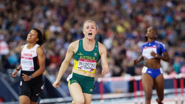 Raising the bar: Hurdler Sally Pearson provided some intrigue.