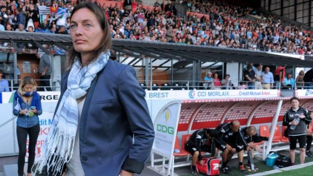 Clermont-Ferrand's French coach Corinne Diacre.