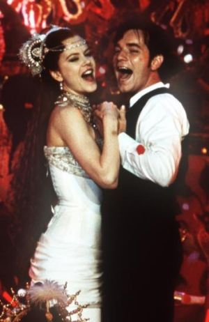 Only a bit wavery: Nicole Kidman with Ewan McGregor in <i>Moulin Rouge</i>.