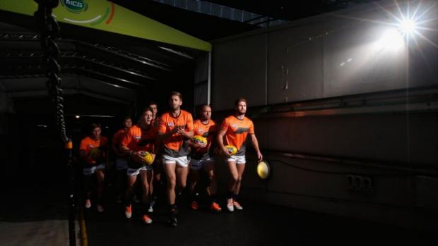 A Giants win would go down well with Canberra fans, Andrew Barr says
