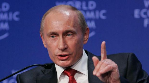 Preparing countermeasures: Russian President Vladimir Putin