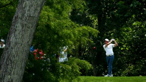 Out of the woods: Northern Ireland's Rory McIlroy has overtaken Adam Scott as the world's number one ranked player.