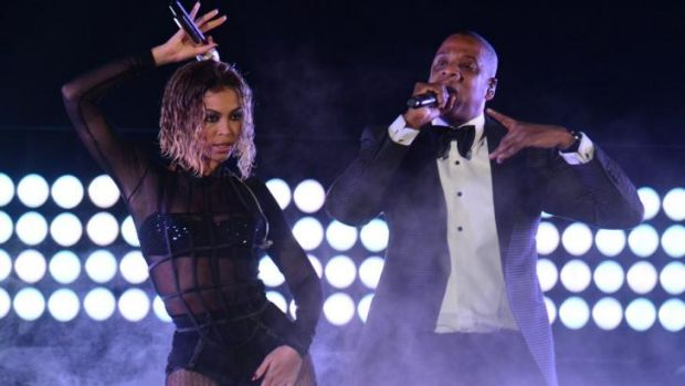 Under fire .. Beyonce Knowles and Jay Z's marriage has become the rapping point for Jay Z's reported mistress Liv.