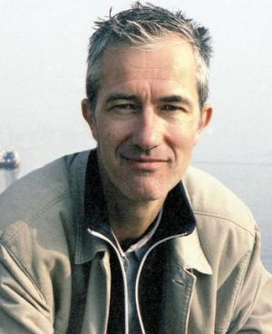 Brilliant persona: Geoff Dyer was the Byron Bay Writers Festival's bestseller on day one.