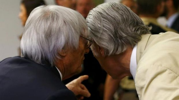Proceedings dropped: Ecclestone's lawyers asked the court last week to end the trial.