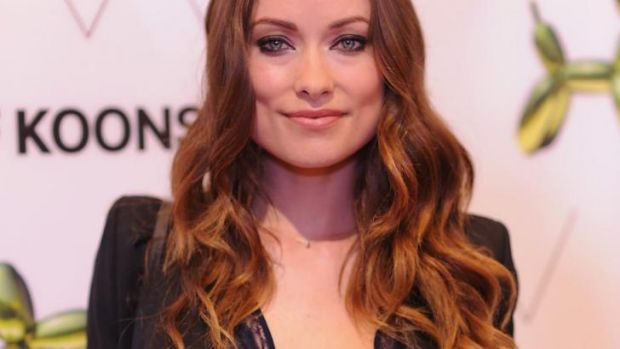 Fashion and a five-month-old: Olivia Wilde's latest shoot involved breastfeeding her son Otis in an old-fashioned diner.