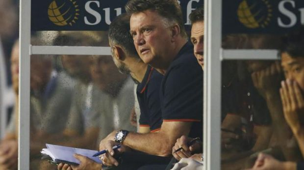 Dutchman Louis van Gaal oversees his first encounter with Liverpool in Miami, a 3-1 win to the Red Devils.