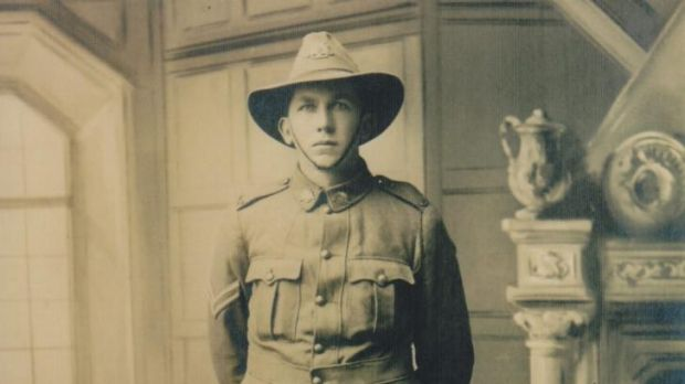 Sergeant Clive Crowley, of Cobbadah, NSW, wrote to his mother in surprisingly tender terms.