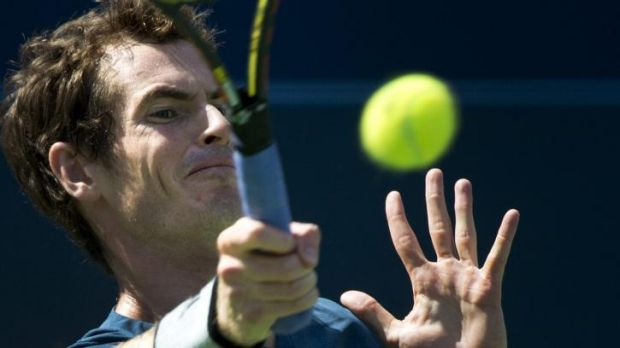 On song: Andy Murray was devastating in his return to tennis.