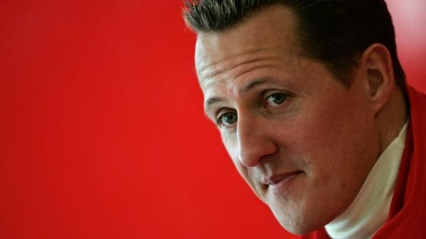 Michael Schumacher can reportedly communicate by using his eyelids.