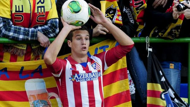 """When they tell you Liverpool want to sign you ... you are going to be absolutely amazed"":   Javier Manquillo."