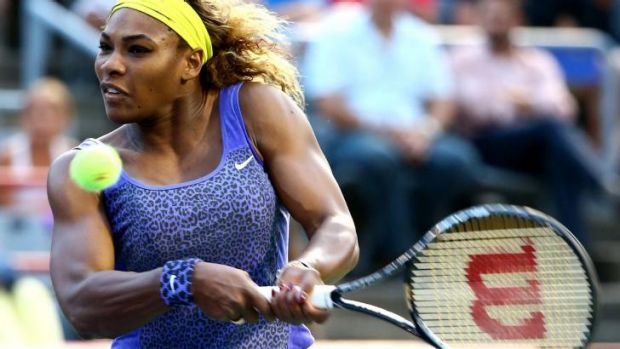 Back on song: Serena Williams.