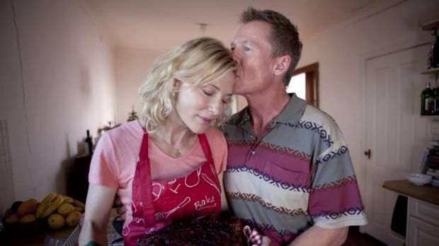 Ensemble approach: Cate Blanchett and Richard Roxburgh in <i>The Turning</i>.