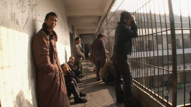 A scene from <i>'Til Madness Do Us Part</i>, a four-hour documentary about life in a Chinese psychiatric hospital by ...
