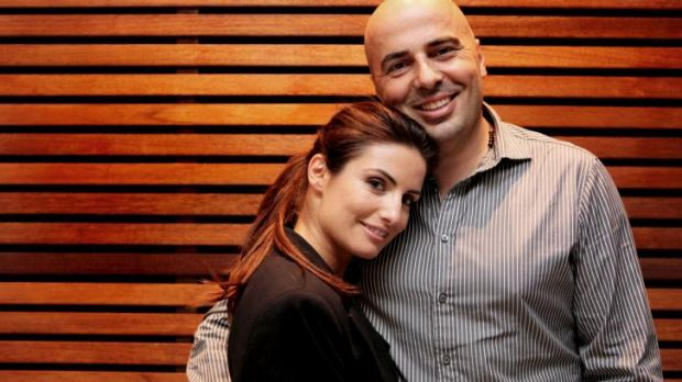 """Great sadness"": Ada Nicodemou and husband Chrys Xipolitas."