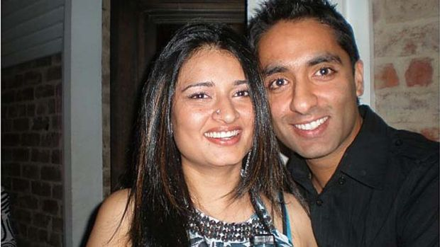 Reetika Ajjan and her husband Jeetender fled Australia after immigration agents raided their home. <i>Source: Facebook</i>