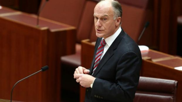 Senator Eric Abetz says studies have drawn a link between abortion and breast cancer.