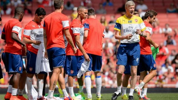 """It looks like we are a bit closer ... We are less vulnerable"": Arsenal manager Arsene Wenger."