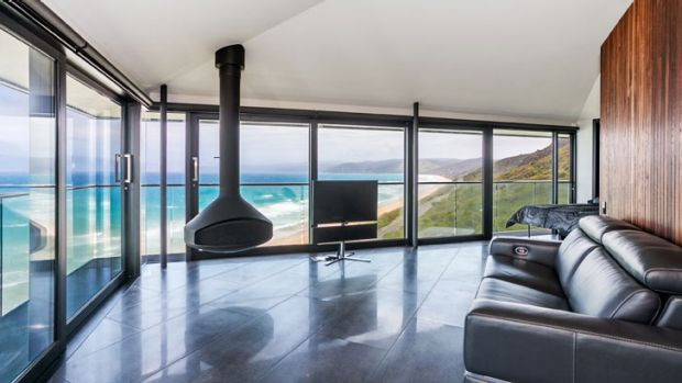 The ''Pole House'' at Fairhaven, on Victoria's Great Ocean Road, is both theatrical in form, as well as in location.