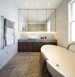 Architect Kristen Stanisich, a director of SJB, often adds luxurious hotel-like finishes and fittings in homes, as well ...